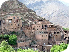 the 3 valleys of toubkal sahara camel trek